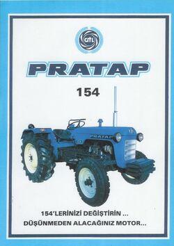 Pratap 154 brochure (Leyland)