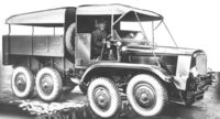 A 1940s GUY Cargo Armytruck 8X8