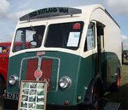 A 1950s Rutland M4 Van Diesel original model