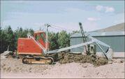 A 1980s Priestman Brothers Cub Excavator Diesel