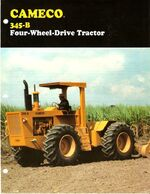 Cameco 345-B 4WD brochure