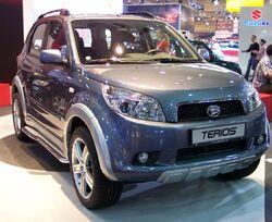 Daihatsu Terios 2006 vr steel EMS