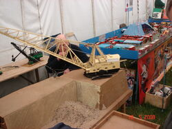Dragline working model DSC01209