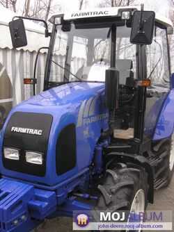 Farmtrac 555 DT MFWD (LUXS)-2007