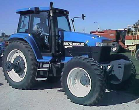 Ford New Holland >> New Holland 8870 Genesis Tractor Construction Plant Wiki