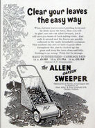 A 1950s Allen Of Oxford original Gardensweeper