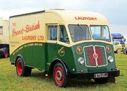 A 1950s Rutland M4 Van Diesel preserved