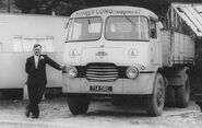 A 1960s Rowe Hillmaster Tipperlorry Diesel 4X2 with Maurice Rowe