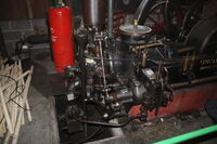 Crossley 30 hp engine head - at KM 09 - IMG 7198