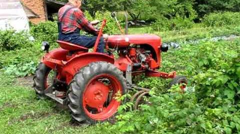 Tractor Valmet 20 (1956) in Estonia