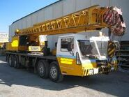 1984 IBESA ATS3525 Cranetruck TD