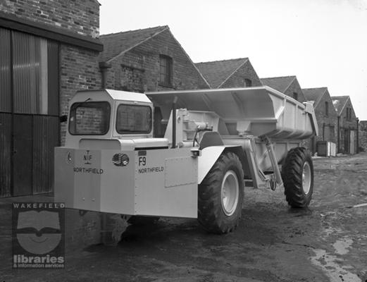 A 1960s NORTHFIELD F9 Mining ADT Diesel