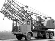 A 1960s Thornycroft Big Ben Smith Cranetruck