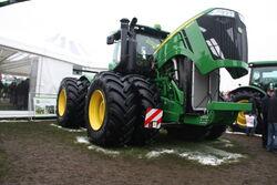 John Deere 9560R tractor at lamma 2013 IMG 6356
