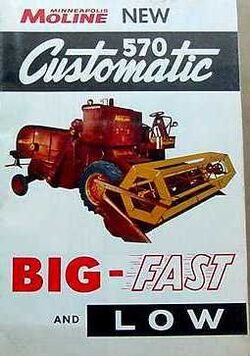 MM 570 Customatic combine