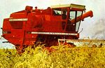 MM 7600 Companion combine (red) - 1974