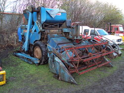 Ransomes 801 combine