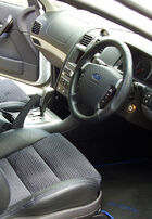 2004-2005 Ford BAII Falcon XR8 interior