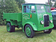 A 1940s Thornycroft Sturdy Tipperlorry