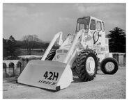 A 1970s weatherill 42HB diesel loader