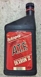 Autopar Dexron ATF Litre