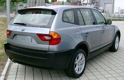 BMW X3 rear 20080524