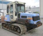 Iseki MK 140S crawler (Morooka)