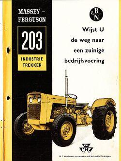 MF 203 Industrial brochure