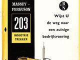 Massey Ferguson 203 Industrial