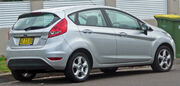 2009-2010 Ford Fiesta (WS) Zetec 5-door hatchback 02