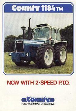 County 1184 TW 4WD brochure