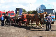 Horse drawn fire engine Thorney at barleylandsIMG 6224