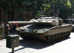 Leopardo 2E. zaragoza 1