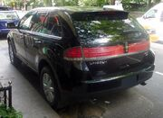 Lincoln MKX Heck