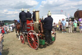 Shand-Mason steam fire engine - Thorney at Hollowell 2011 - Picture 800