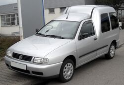 VW Caddy II front 20090329