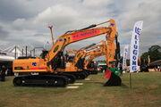 LiuGong machines at Demxpo 17 - IMG 9615