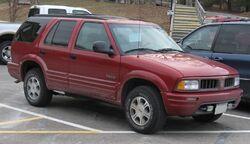 98-01 Oldsmobile Bravada
