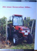 BERGmeister 354 MFWD brochure