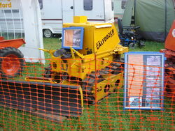 Calfdozer at Belvoir 2008