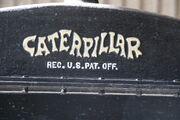 Caterpillar logo on radiator header tank - IMG 6052
