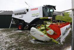 Claas Lexion 760 at Lamma 2013 IMG 6288