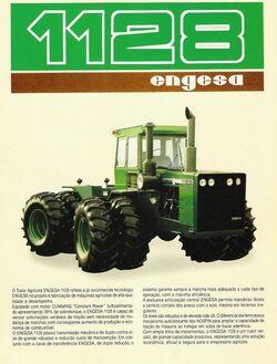 Engesa 1128 4WD brochure