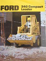 Ford 340 skid-steer brochure - 1973