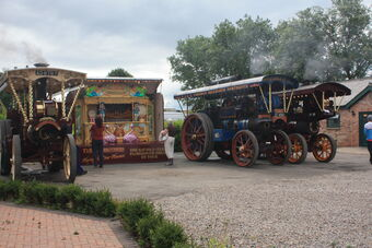 Station Yard - Q of GB - Yorkshire Bell - Albion - Turners Bros Organ at masham 09 - IMG 0288