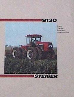 Steiger 9130 (red) brochure