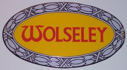 Wolseley sign