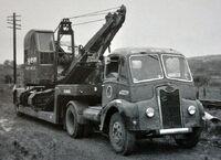 A 1950s GUY Vixen Haulage Tractor Diesel