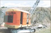 A 1950s Priestman Brothers Caribou Dragline