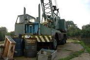 A 1970s ALLEN T12 Cranetruck Diesel 6X4